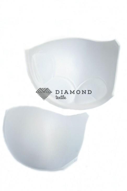 Чашка Push-up, белый, с выступом под бретель, об.110 см